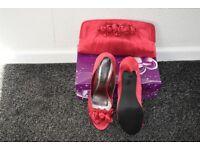 Lunar Elegance New Shoes and Handbag