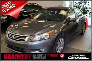 2009 Honda Accord Sedan EX-L V6 CUIR TOIT OUVRANT
