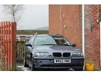 BMW 320D ESTATE / TOURER. 2.0 DIESEL, 50mpg+, reliable, smooth,comfort, NEW MOT