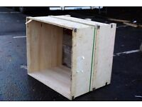 FREE WOODEN CRATES AND PANELS - Collection Only - Assortment of sizes available.