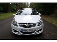 2010 Vauxhall Corsa 1.4i 16v SRi 3dr White