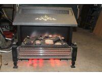 Electric coal fire effect fire