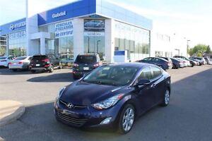 2013 Hyundai Elantra LIMITED, JAMAIS ACCIDENTÉ, UN PROPRI