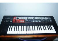 ROLAND SH 201 SYNTH & MANUAL £200.