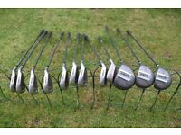 Used Set of Golf Clubs Graphite Shafts