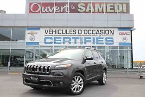 2016 Jeep Cherokee TOIT PANORAMIQUE+CUIR+NAVIGATION