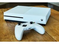 Xbox One S 500 gb - Whiter - Unit Only