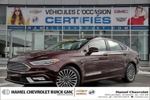 2017 Ford Fusion AWD (4X4)+CUIR+TOIT OUVRANT+NAVIGATION