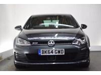 VOLKSWAGEN GOLF 2.0 GTD 3d [LEATHER] 182 BHP (grey) 2014
