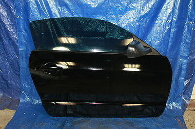 07-09 FORD SHELBY MUSTANG GT500 FACTORY OEM PASSENGER RIGHT RH FRONT DOOR BLACK