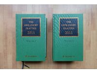 The Civil Court Practice Volume 1 & Volume 2