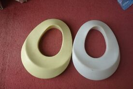 two baby toilet seats from 1970's,