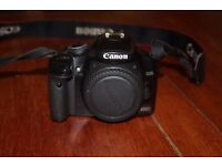 canon 450d with two lenses