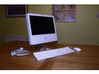 "INTEL iMAC iSIGHT 17"" CORE 2 DUO 
