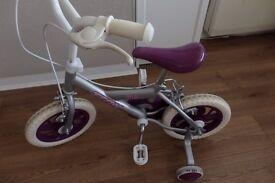 Girls Bike with Stabiliser