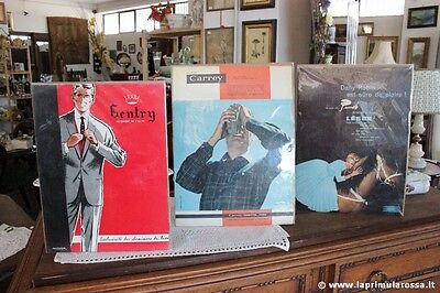 3 PUBBLICITA VINTAGE CHEMISIERS DE LUX LAINE DE LESUR CARREY CHEMISE ADVERTISING