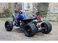 NEW 2016 250CC BLUE ROAD LEGAL QUAD BIKE ASSEMBLED IN UK - 66 PLATE OUT NOW! -FREE NEXT DAY DELIVERY
