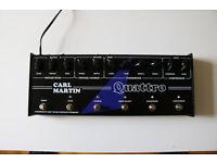 Carl Martin Quattro Multi Effects Guitar Pedal