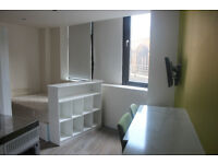 Offered as a furnished student let a delightful one bed studio flat in St Stephens House Colston Ave