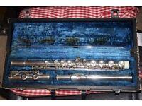 Japanese vintage flute Artist by Aria