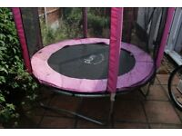Small pink Plum trampoline