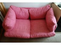 Small cosy sofa bed