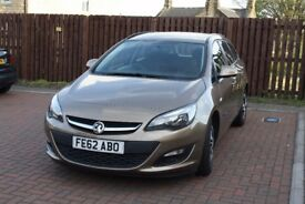 2012 Vauxhall Astra 1.6 petrol ,6 speed automatic, low millage-40.000
