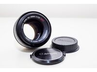 Converted 1970's Canon FD 55mm f/1.2 S.S.C Aspherical lens - EF Mount