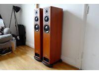 Pair of PMC OB1 Floor Standing Speakers Cherry wood MINT Boxed OOO not TWENTY FB1 EB1 FACT B&W £1400