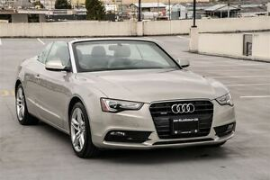 2013 Audi A5 2.0T Quattro Premium with Navigation/Back-up