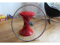 Flip flop wheel 700c 18t