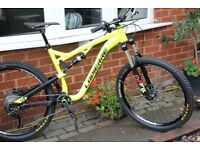 2016 Lapierre Zesty XM427 Mountain bike excellent condition top spec