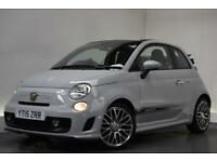 ABARTH 500C 1.4 C CUSTOM MTA 3d AUTO 138 BHP (grey) 2015