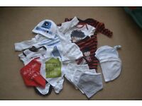 Baby Boy Clothes Bundle, Up to 1 Month, More Pics!