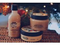 The Body Shop Vanilla Chai Collection worth £36!!