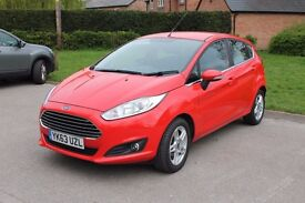 Ford Fiesta 1.0 Ecoboost. 2014. One owner, FSH, Only 48,000 miles, MOT until Feb 2018. Immaculate.
