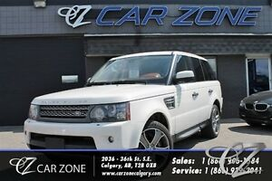 2010 Land Rover Range Rover Sport Supercharged, White, Great Sha