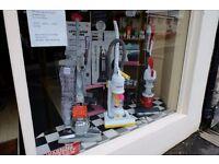 Vacuum Cleaner shop Business for sale in Kidderminster.