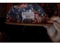 FLORAL 5 PANNEL RARE HAT
