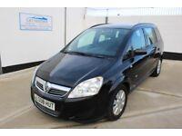 Vauxhall Zafira 1.6 i 16v Life 5dr £2,495 p/x welcome Low mileage - Serviced 2008 (08 reg), MPV