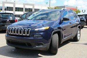 2014 Jeep Cherokee SPORT PLUS 4X4 *CAMERA RECUL/SIEGES CHAUFFANT