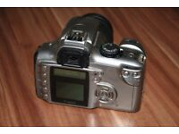 Canon 300D DSLR camera with Canon 18-55mm lens