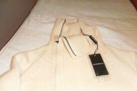Emporio Armani cardigan-sweater (NEW) still-tagged (size M)