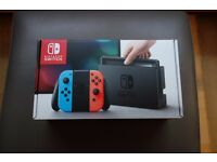 NINTENDO SWITCH NEON CONSOLE - NEW