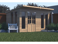 Heavy duty summer house shed build and design service