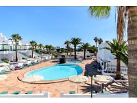 Lanzarote Holiday Apartment,Playa Park ,Puerto Del Carmen .Front Line To The Beach