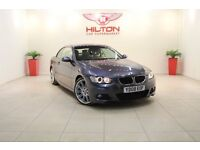 BMW 3 Series 2.0 320d M Sport 2dr (grey) 2008