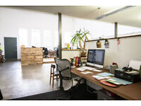 DESK SPACE available in old converted tea factory depot