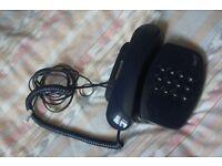 Dark Blue BT phone