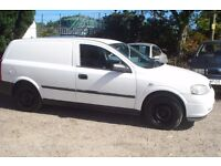 Vauxhall Astra Envoy Van Dti 2001-y-reg, 1700cc turbo diesel, 130,000 miles, new MOT upon purchase